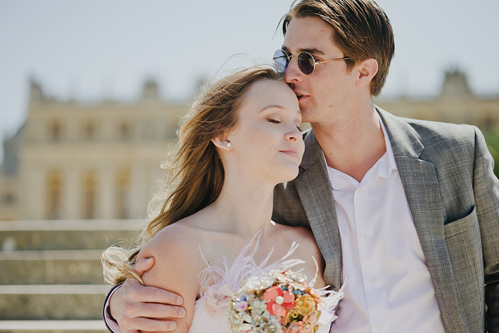 Portland Portrait Photographer - Newlyweds at the Palace of Versailles