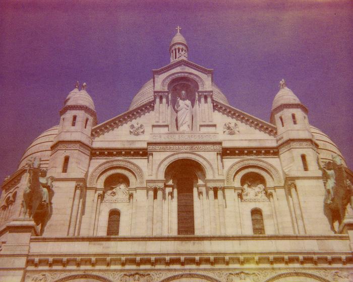 Polaroid Spectra Film - Sacré-Cœur Basilica - Paris, France
