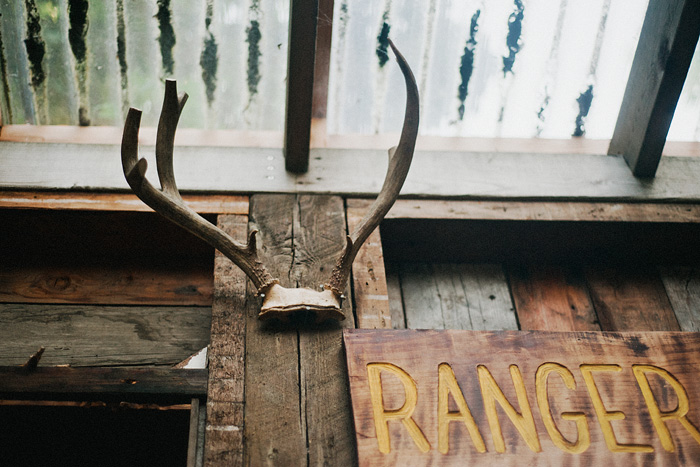 Portland Oregon Photographer - The Ranger Station - Deer Antlers