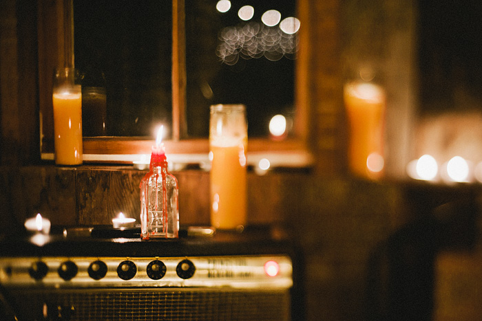 Portland Oregon Photographer - Candles on Amps at the Ranger Station