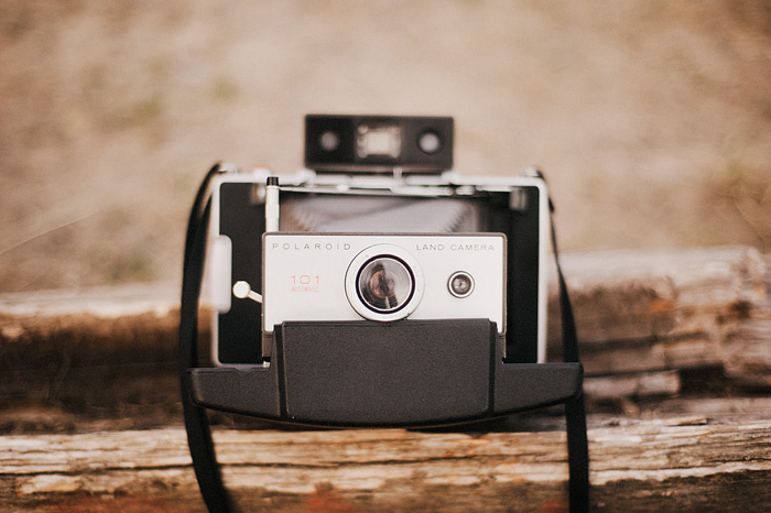 Portland Lifestyle Photographer - Polaroid 101 Land Camera at the Skidmore Bluffs