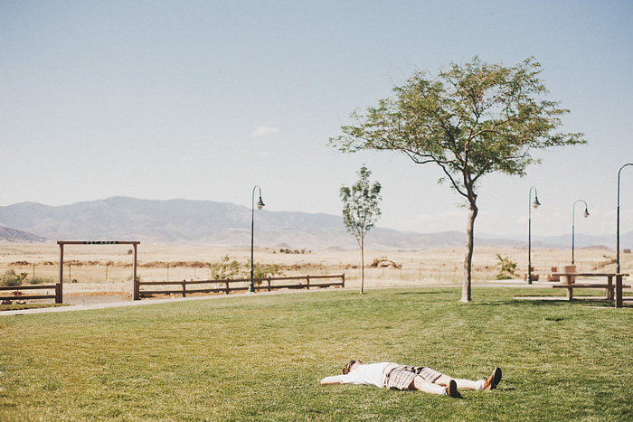 Portland Lifestyle Photographer - Ben sleeping at Mt. Shasta Rest Area