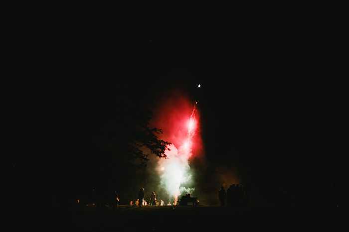 Portland Oregon Photographer - Fireworks on Mt. Tabor