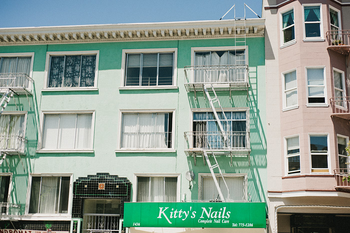 San Francisco Lifestyle Photographer - Kitty's Nails