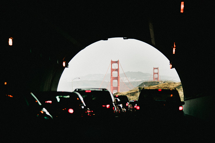 San Francisco Lifestyle Photographer - Golden Gate Bridge Tunnel