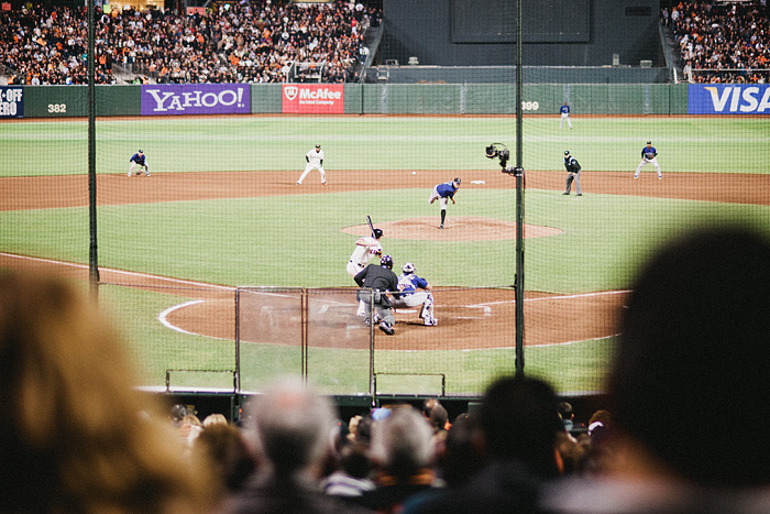 San Francisco Photographer - Giants Baseball Game