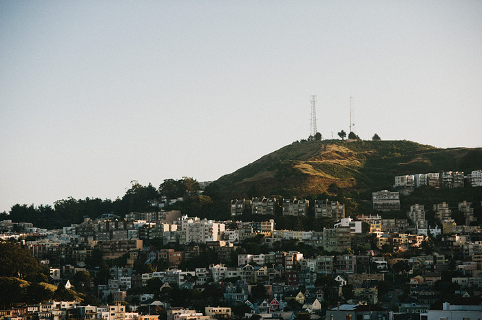 San Francisco Photographer - Houses on a Hill