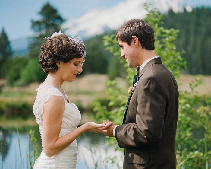 Redding Wedding Photographer - Ring Exchange