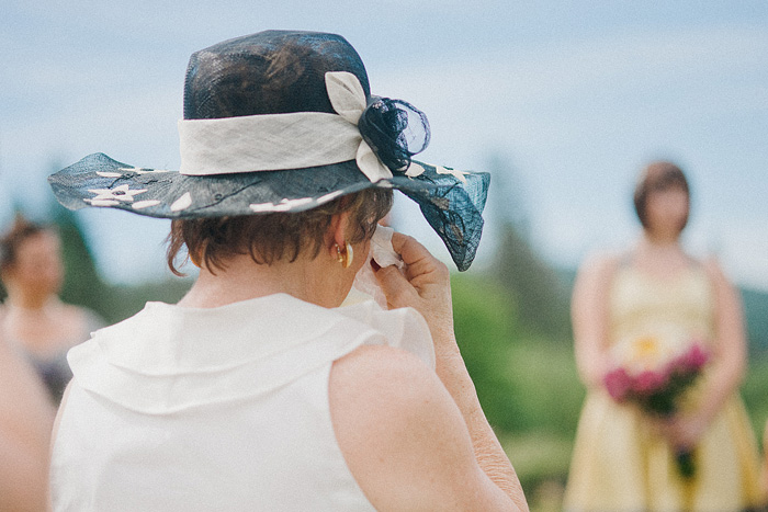 Redding Wedding Photographer - Mother of Bride Crying