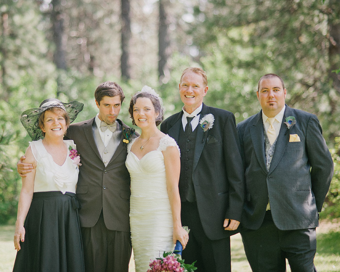 Redding Wedding Photographer - Mt Shasta Meadow - Formals