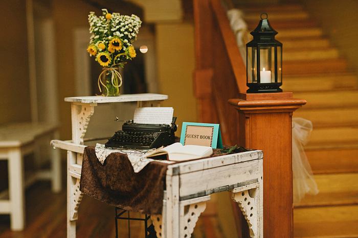 Redding Wedding Photographer - McCloud Mercantile Inn - Reception - Bokeh Panorama