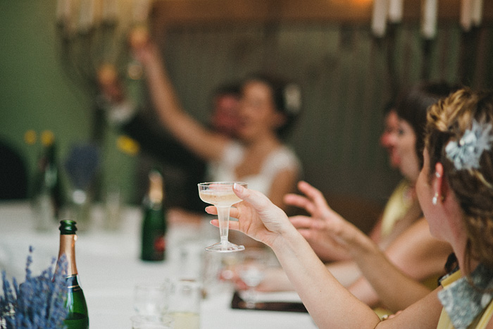 Redding Wedding Photographer - McCloud Mercantile Inn - Champagne Toast