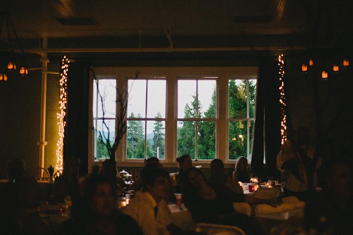 Redding Wedding Photographer - McCloud Mercantile Inn - Reception Hall