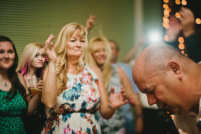 Redding Wedding Photographer - McCloud Mercantile Inn - Karaoke