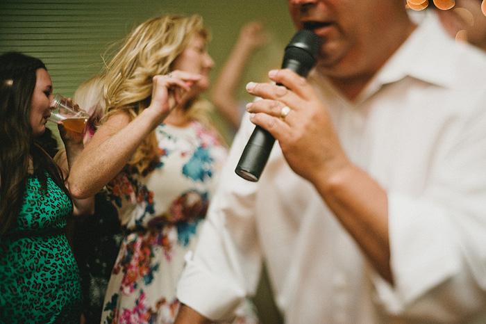 Mt Shasta Wedding Photographer - McCloud Mercantile Inn - Karaoke