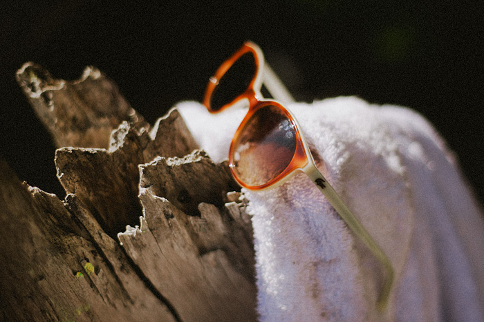 Portland Lifestyle Photographer - Sunglasses and Towel at Lost Lake