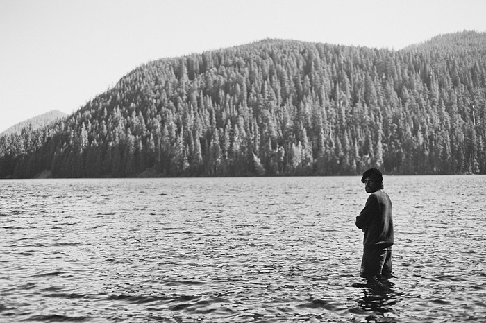 Portland Oregon Photographer - Mark Robertson at Lost Lake