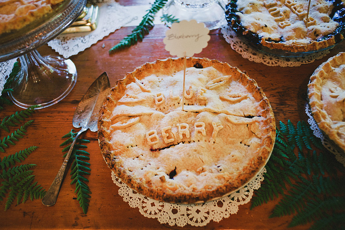 Crescent City Wedding Photographer - Homemade Wedding Pie - Gasquet, CA