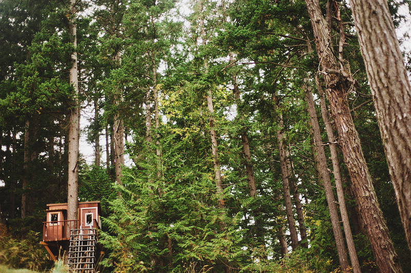 Portland Lifestyle Photographer - Treehouse on Lopez Island - Vacation Rental