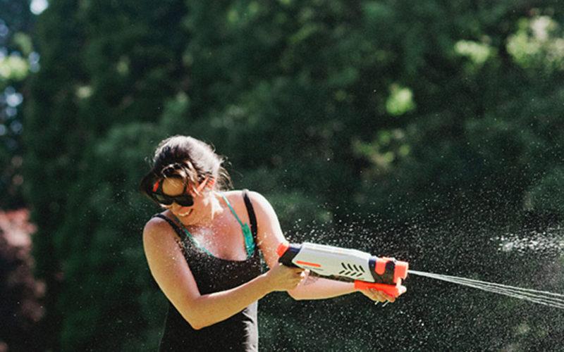 Second Annual Water Gun Fight