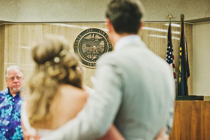 Multnomah Courthouse Wedding Photographer - Multnomah County Courthouse Wedding