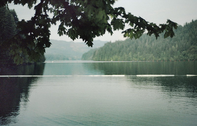 Swimming hole in Washington - Nikon F100