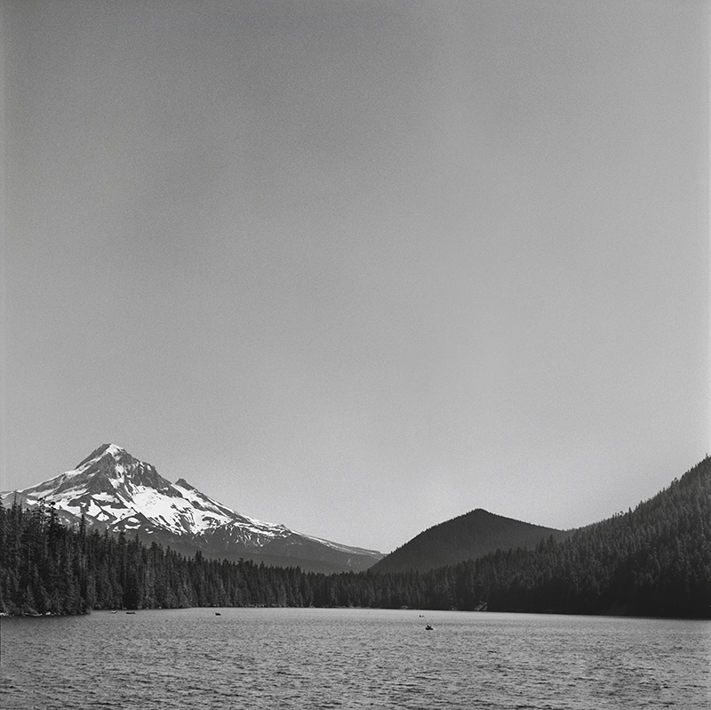 Portland Film Photographer - Mt Hood at Lost Lake - Rolleiflex