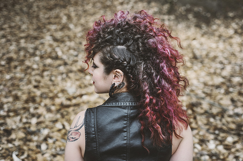 Portland Portrait Photographer - Punk Rock Inspired Styled Shoot