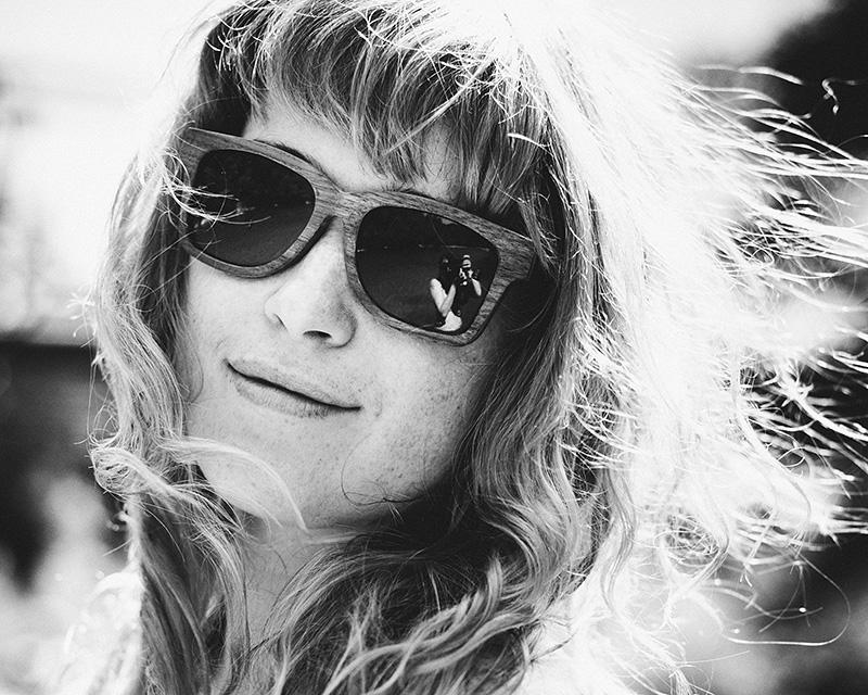 Telhart Wooden Sunglasses - Portland Fashion Photographer