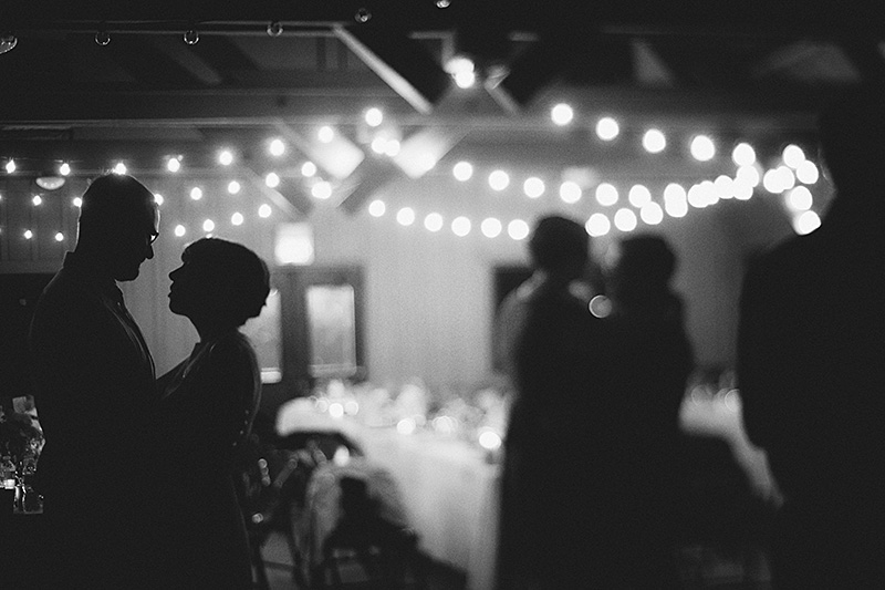 San Bernadino Wedding Photographs - Bride and groom dancing at the Camp Seely reception
