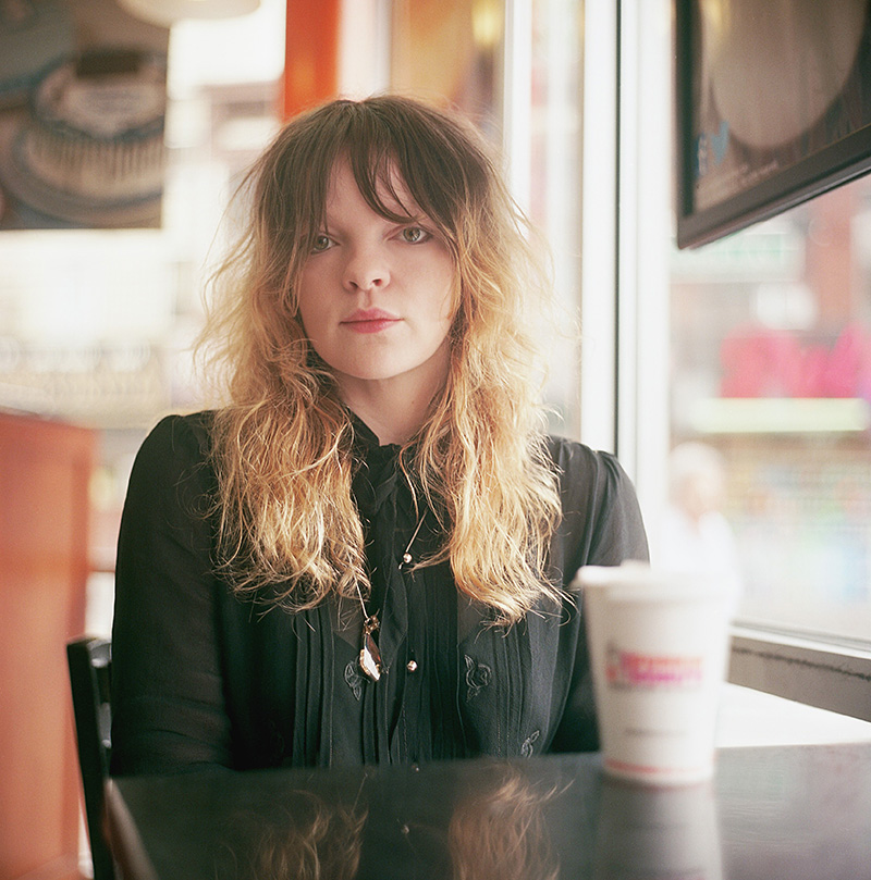 Portland Band Photographer - Film portrait of Jessica Pratt in Brooklyn, NY