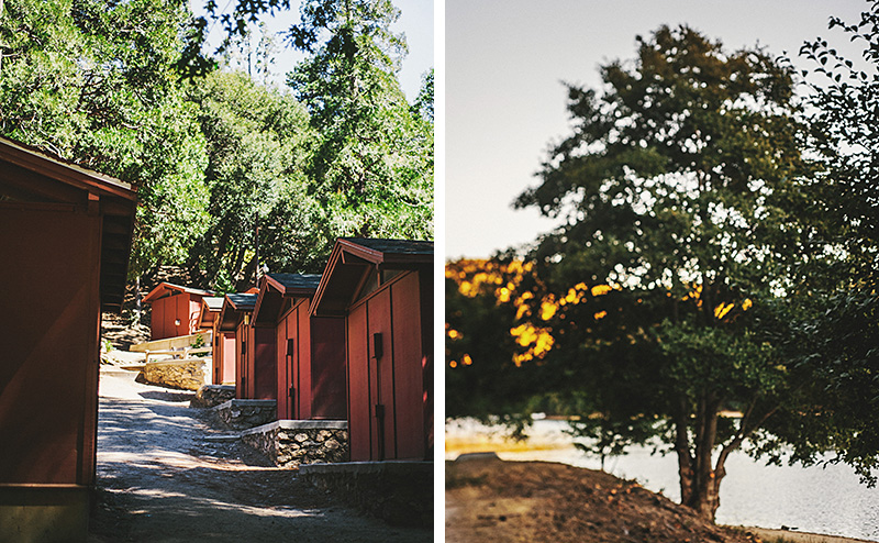 Cabins for guests | Kate & Will's Camp Seely Wedding | Kim Smith-Miller