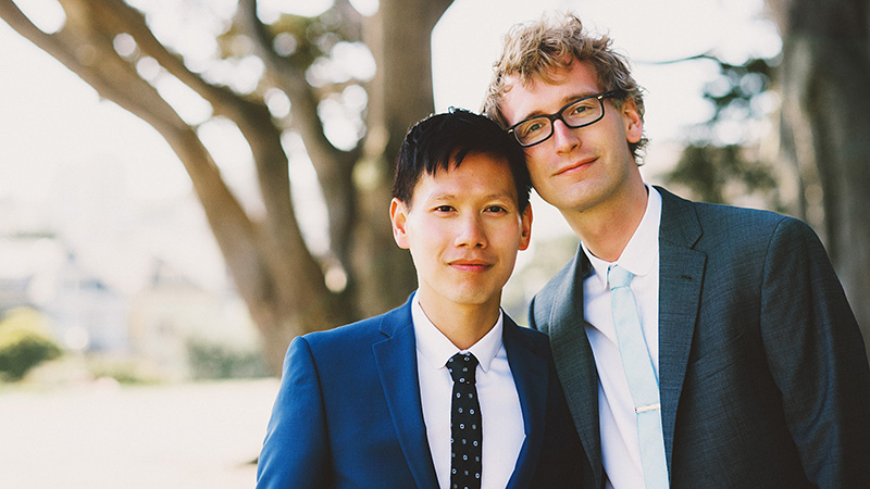 Alamo Square Portraits in San Francisco, CA - 2014 Best of Portland Weddings