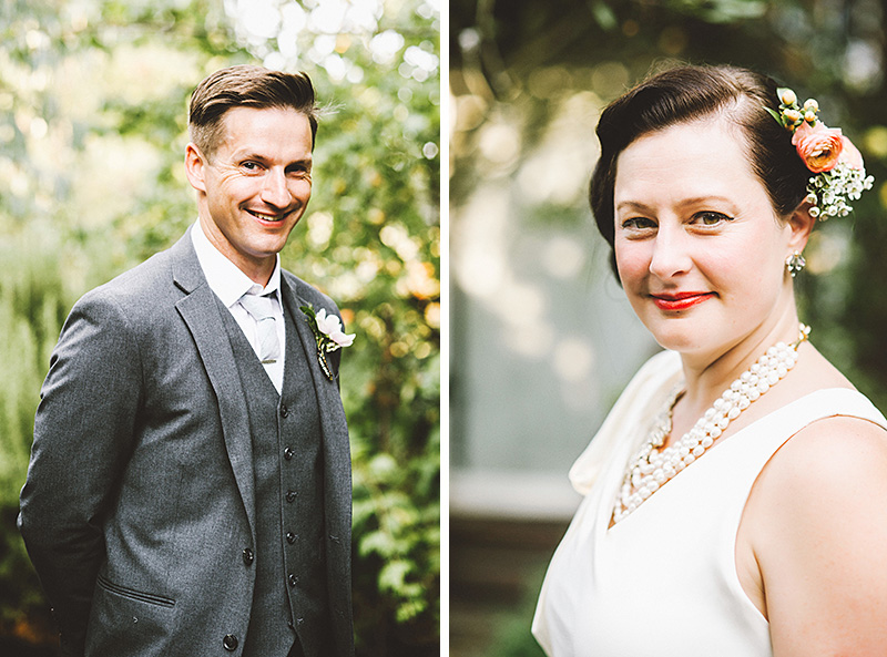 Bride and Groom Portraits - Secret Society Wedding