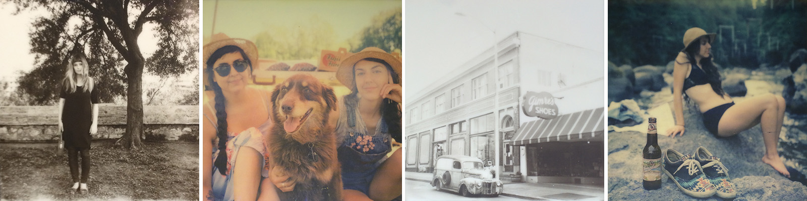 SLR670m Review - Sample images from Impossible Project Gen2.0 Polaroid Films
