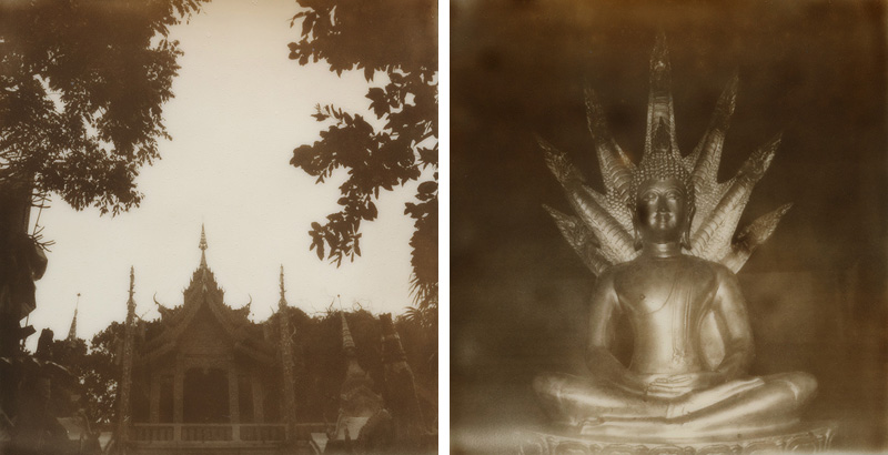 Polaroids from Doi Suthep | SLR680 Polaroid