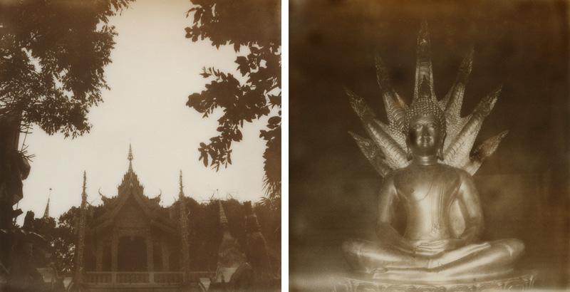 Polaroids from Doi Suthep | SLR680 Polaroid