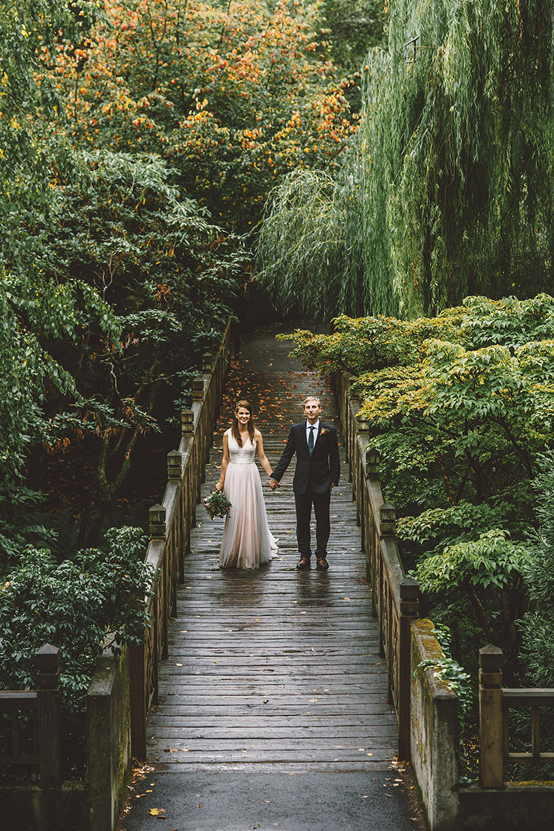 Crystal Springs Rhododendron Garden - Best Portland Wedding Photography