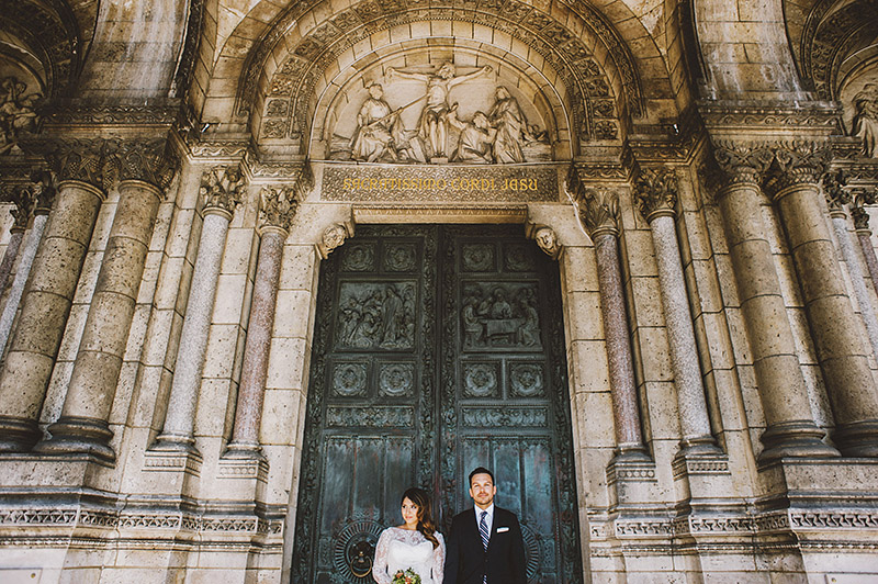 Paris Elopement at Sacre-Coeur - Best Portland Wedding Photography