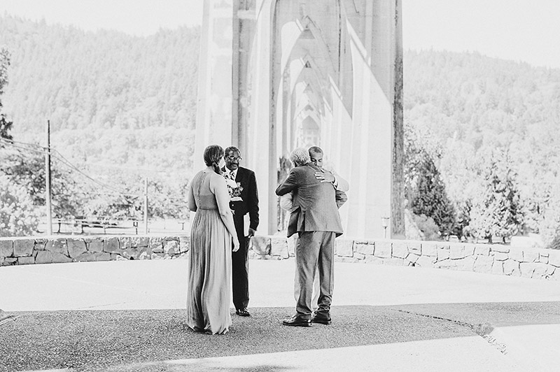 St Johns Bridge Wedding - Wedding Ceremony