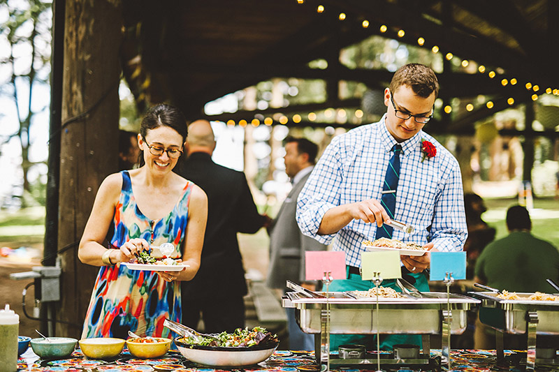 Mount Tabor Wedding Taco Bar