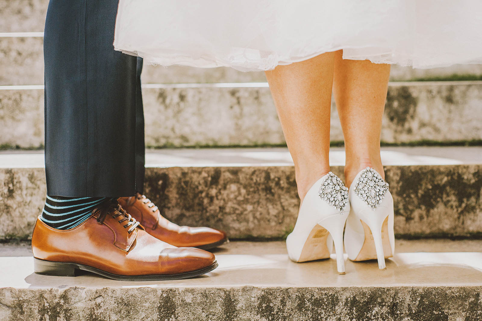 Fashionable Footwear | Springtime Paris Elopement at Parc des Buttes Chaumont