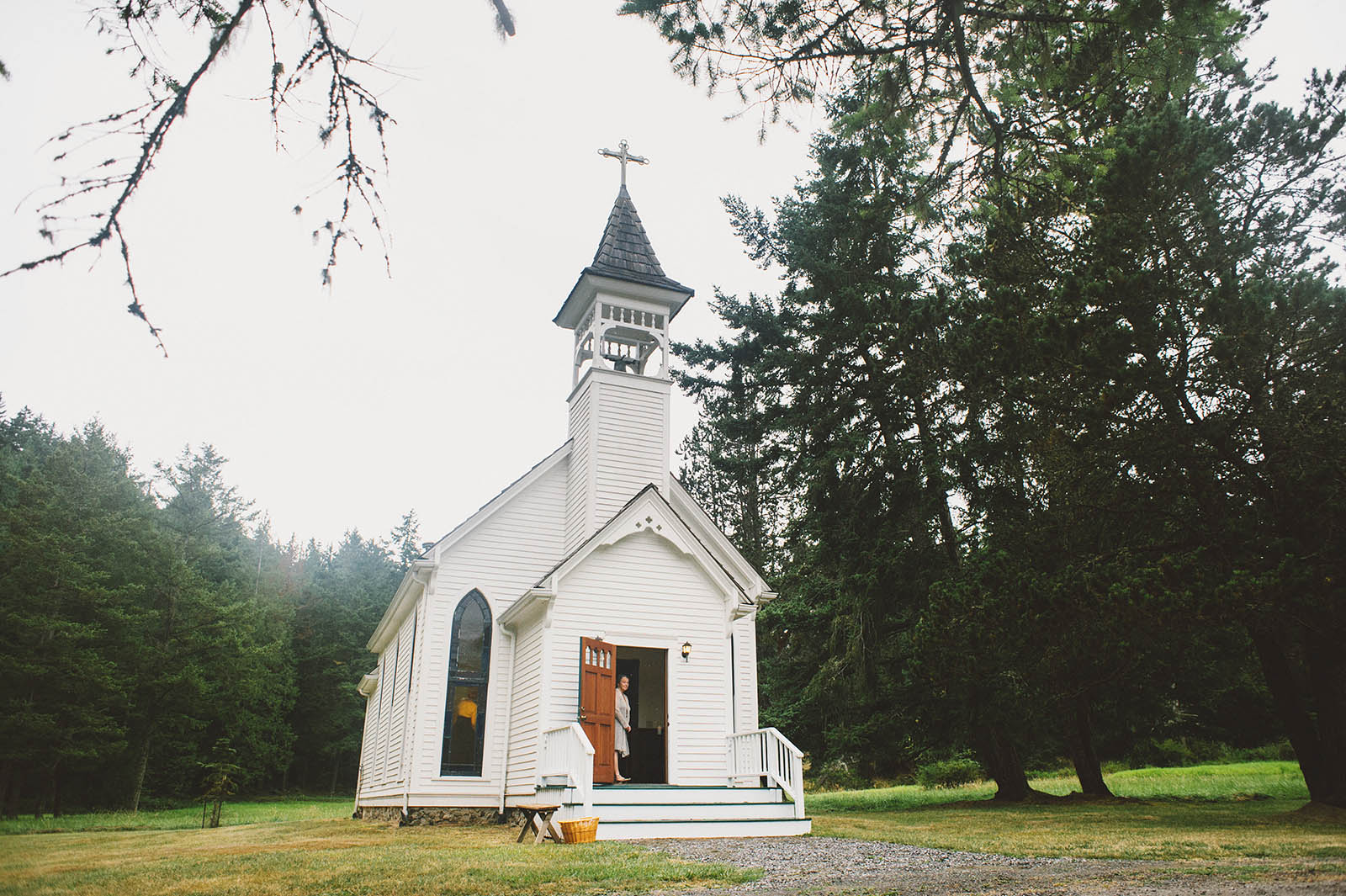 Victorian Valley Chapel Wedding on Orcas Island, WA