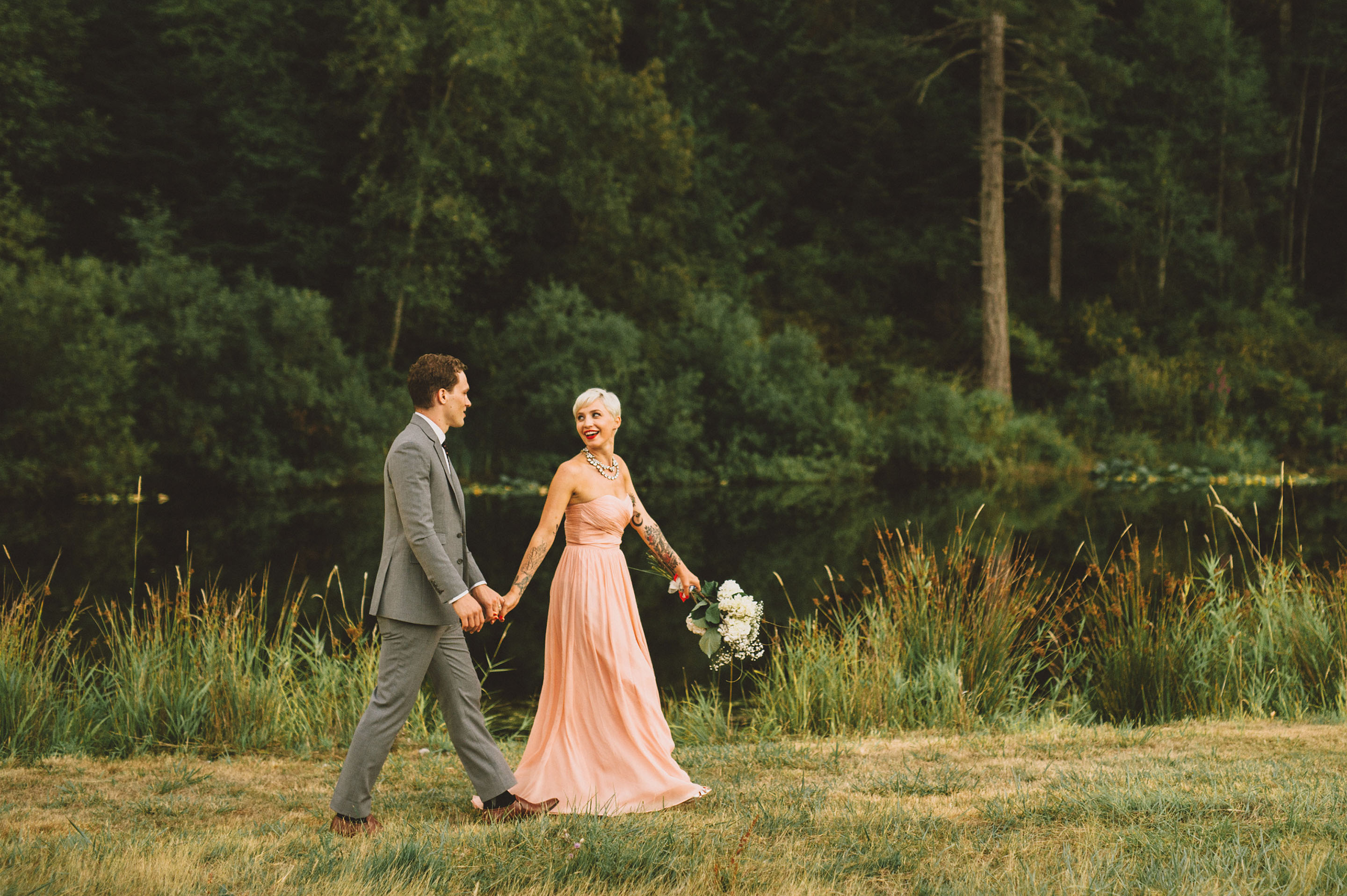 Portland Wedding Photographer | Megan and Max on Orcas Island