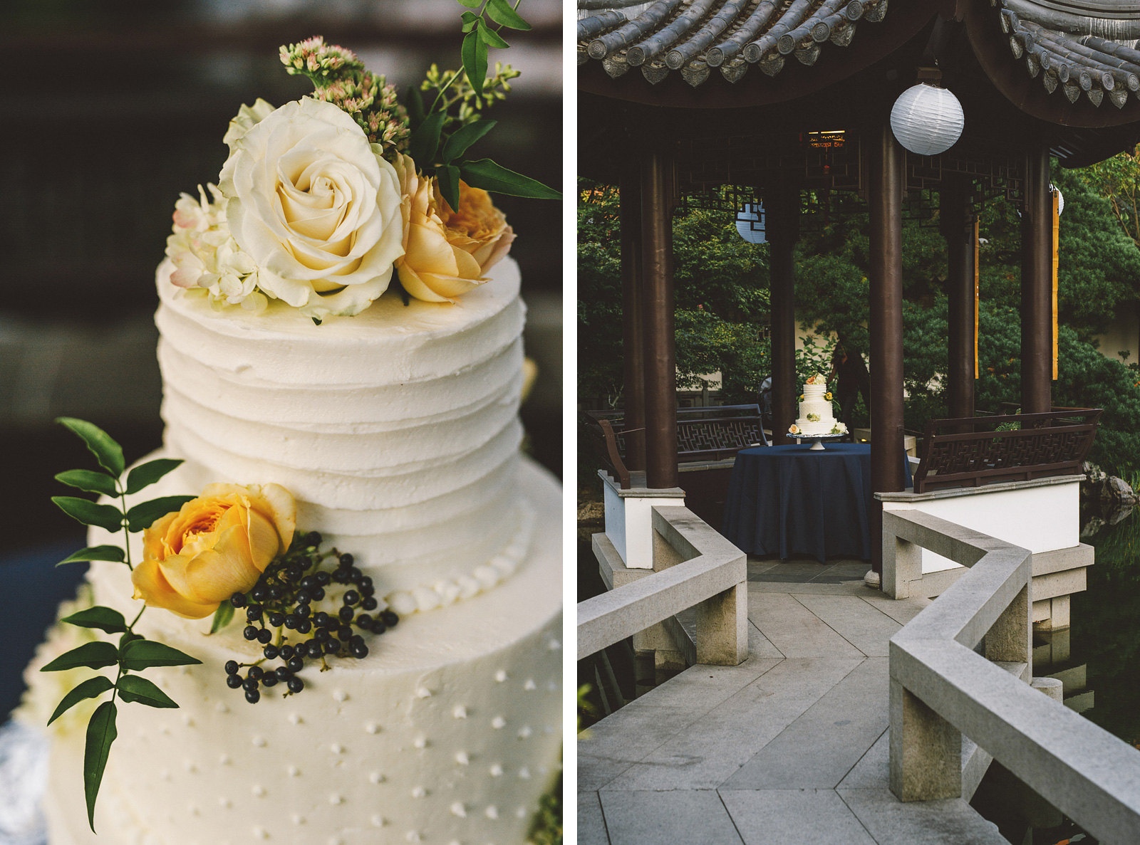 DIY Wedding Cake | Lan Su Chinese Garden Wedding