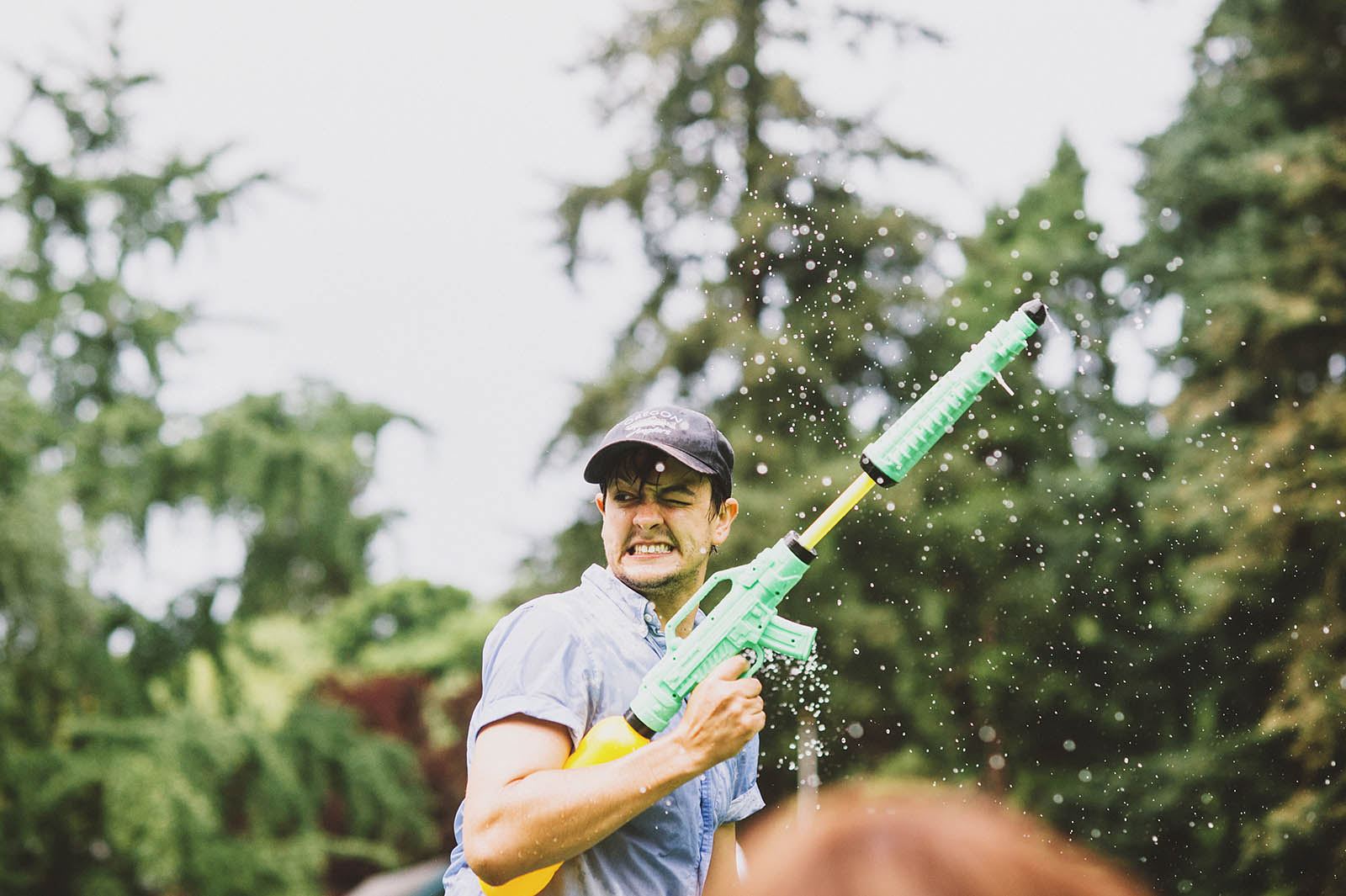 Portland Water Gun Fight in Laurelhurst Park