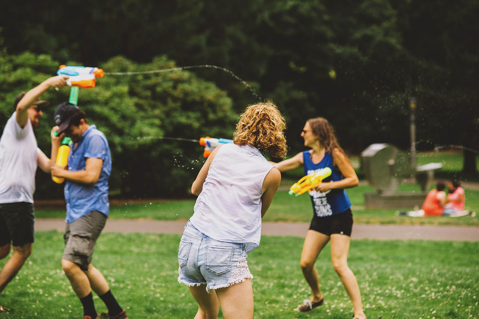 Fifth Annual Portland Water Gun Fight - Kim Smith-Miller ...