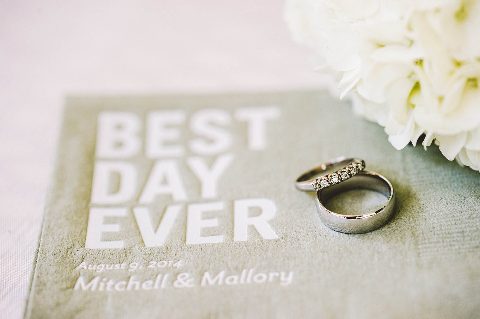 Best Day Ever Napkins | Fort Vancouver Wedding in Washington