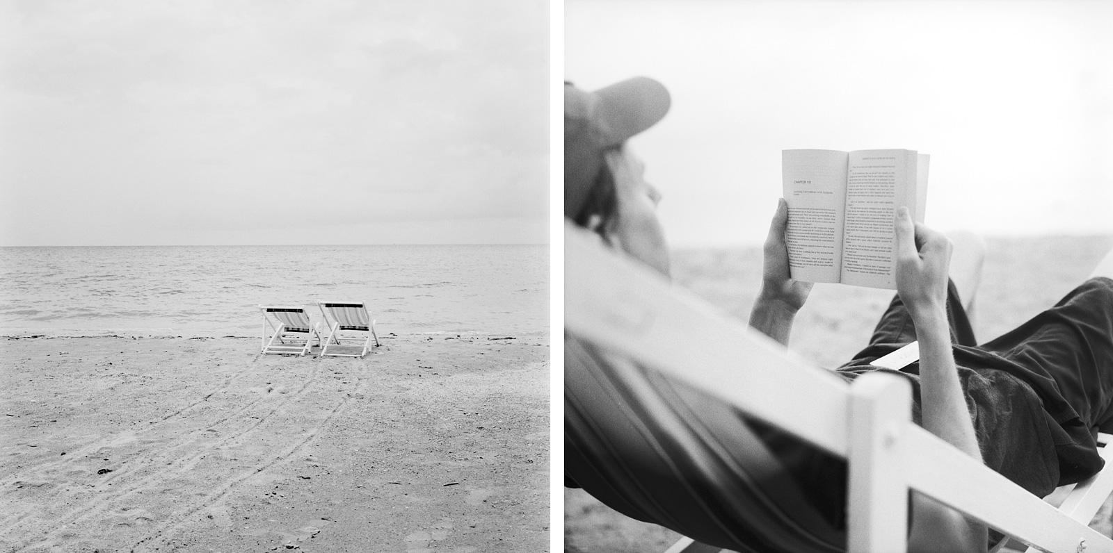 Reading books on the beaches of Koh Mak | Thailand Travel Photos