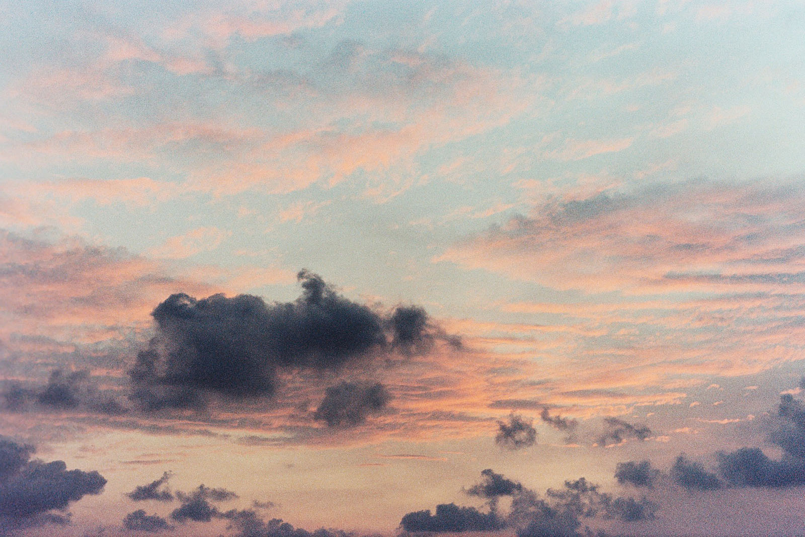 Sunset clouds at Baan Koh Mak | Thailand Travel Photos
